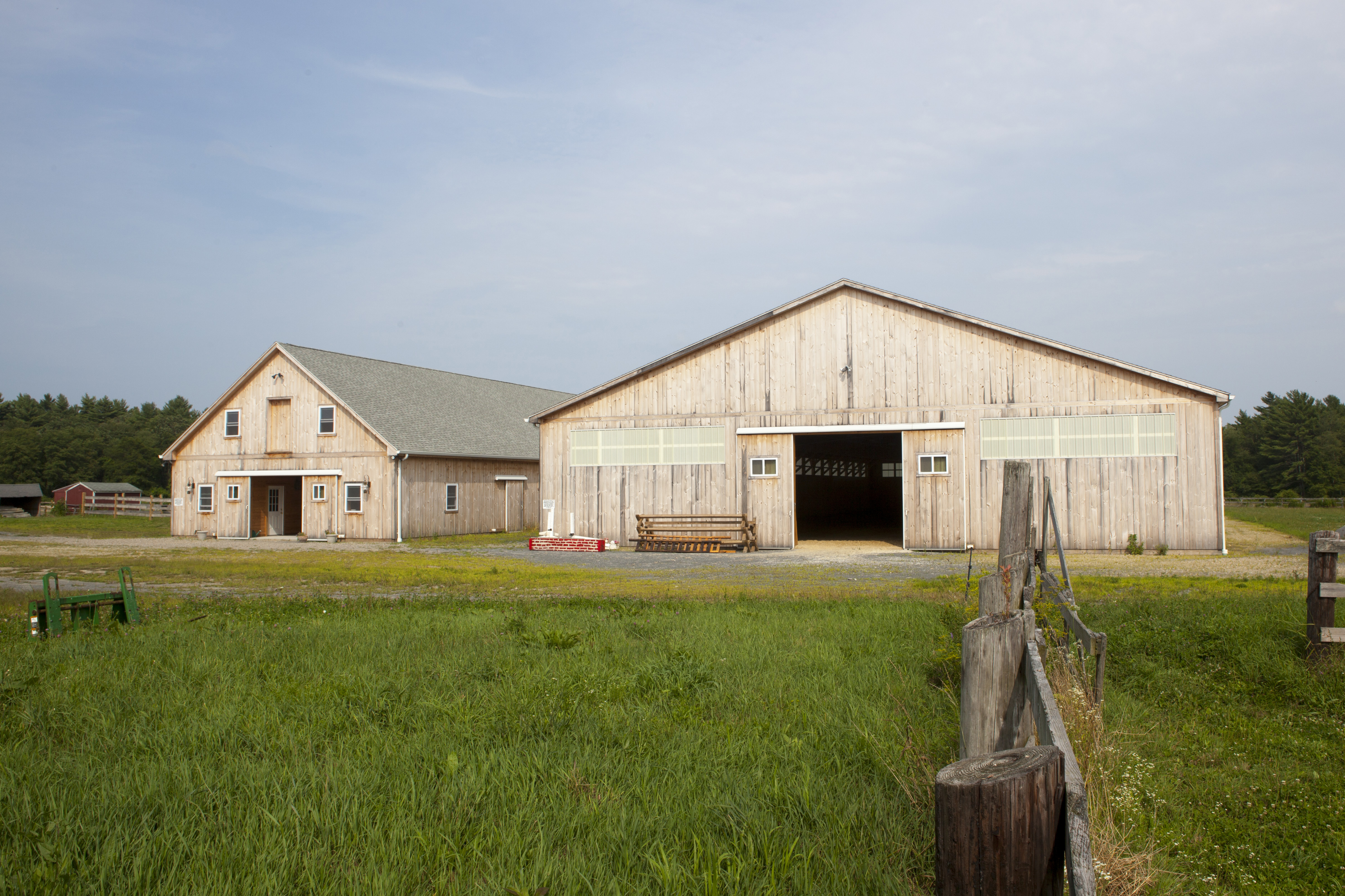 Shiplap Horse Barn & Arena