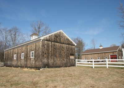 Weathered Shiplap Barns